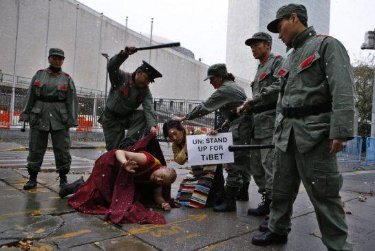 China's Inhuman Brutality and Total Disregard for Tibetans Rights, Culture and Belief