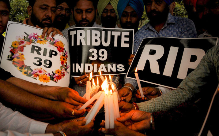 The Unfortunate Killing of 39 Indians by ISIS in Iraq