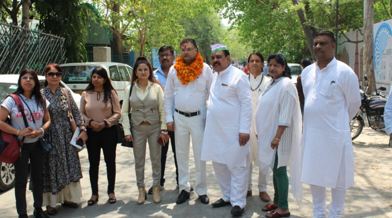 Jai Prakash Janta Dal (JPJD) announces Advocate Hitesh Kumar's name to contest from East Delhi