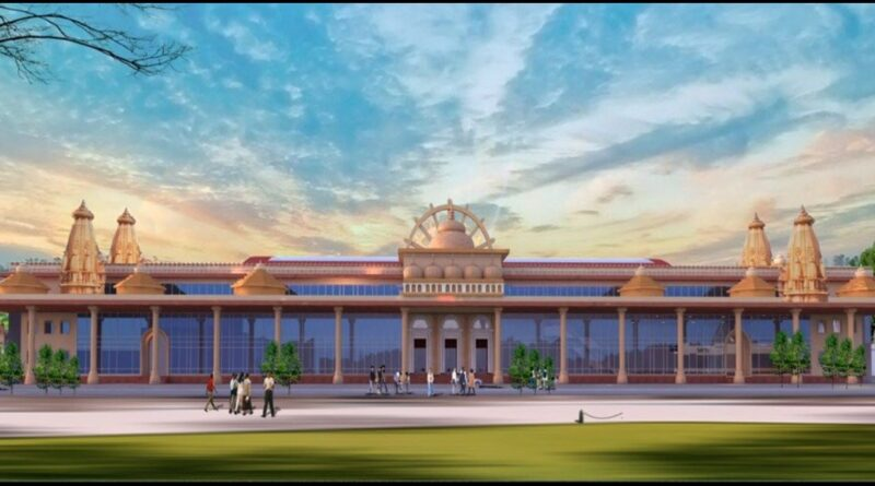 Ayodhya Railway Station to be designed as a Replica of RAM MANDIR