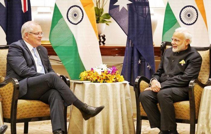 Modi and Morrison discussed defence partnership and bilateral ties