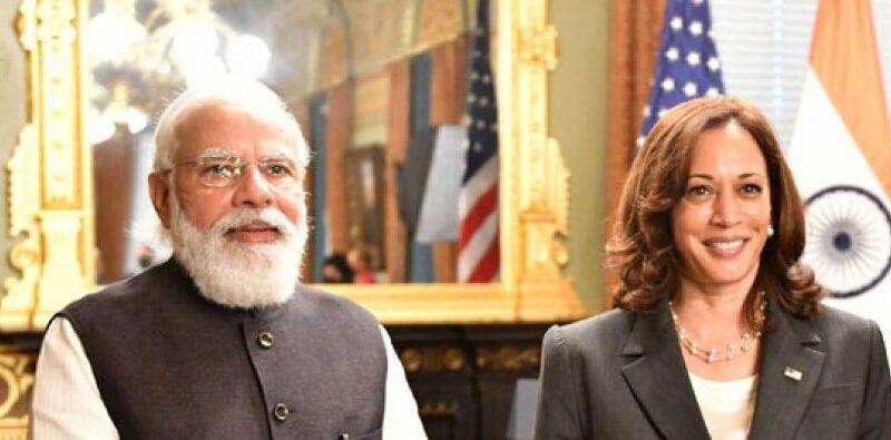US Veep Kamala Harris appreciates India's vaccination efforts